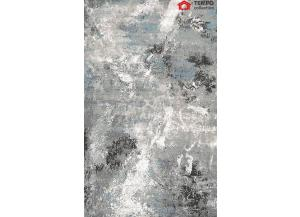 5'x7' Area Rug, Grey Ice
