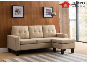 Sectional Sofa, Beige