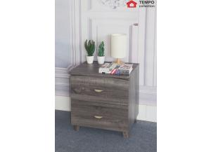 Nightstand, Distressed Gray