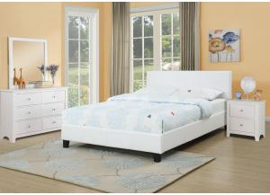 Image for Platform Bed and Aloe Memory Foam Combo
