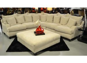 PREMIER STONE SECTIONAL (ottoman add $349)