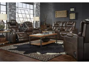 MANHATTAN RECLINING SOFA AND LOVESEAT