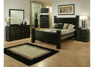 Elena Queen Bed, Dresser, Mirror and Nightstand