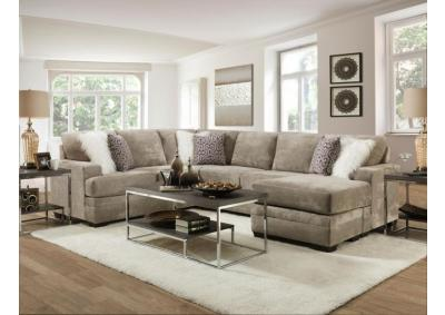 REVERSABLE GLAM SECTIONAL