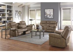 2PC KNOXVILLE RECLINING SOFA AND ROCKER RECLINING LOVESEAT