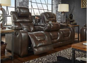 MANHATTAN RECLINING SOFA (TGL) (POWER)
