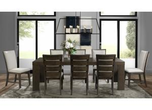 Grady Rectangle Table and 8 Chairs