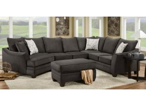 FLANNEL SEAL SECTIONAL