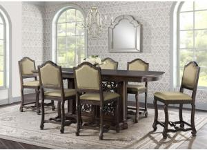 CHESLEY COUNTER HEIGHT 7PC DINING ROOM SET