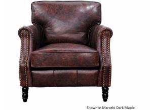 BRADFORD TOP GRAIN LEATHER CHAIR