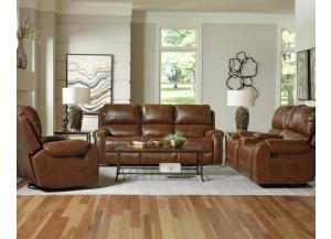 WINSLOW RECLINING SOFA AND LOVESEAT