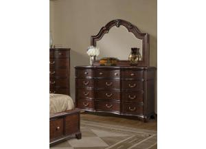 TABASCO DRESSER WITH MIRROR