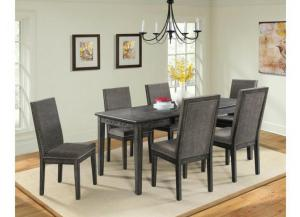 South Paw Table and 6 Chairs