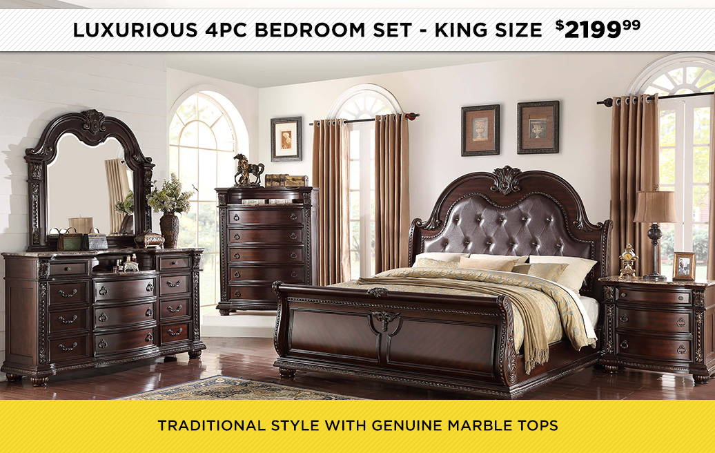 Luxurious Bedroom Set