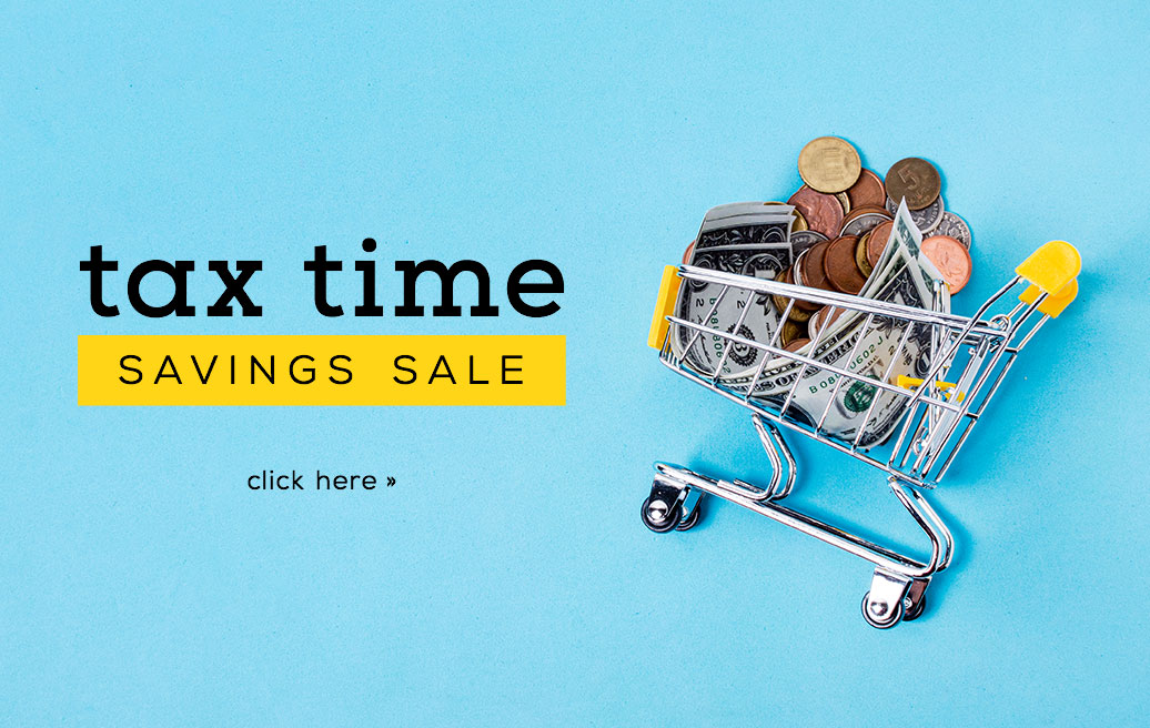 Tax Season Sale