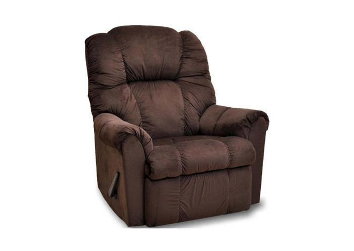7527 Ruben Rocker Recliner by Franklin,Old Brick