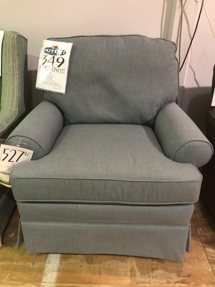 Clearance - Swivel Glider Chair by Best,OBO