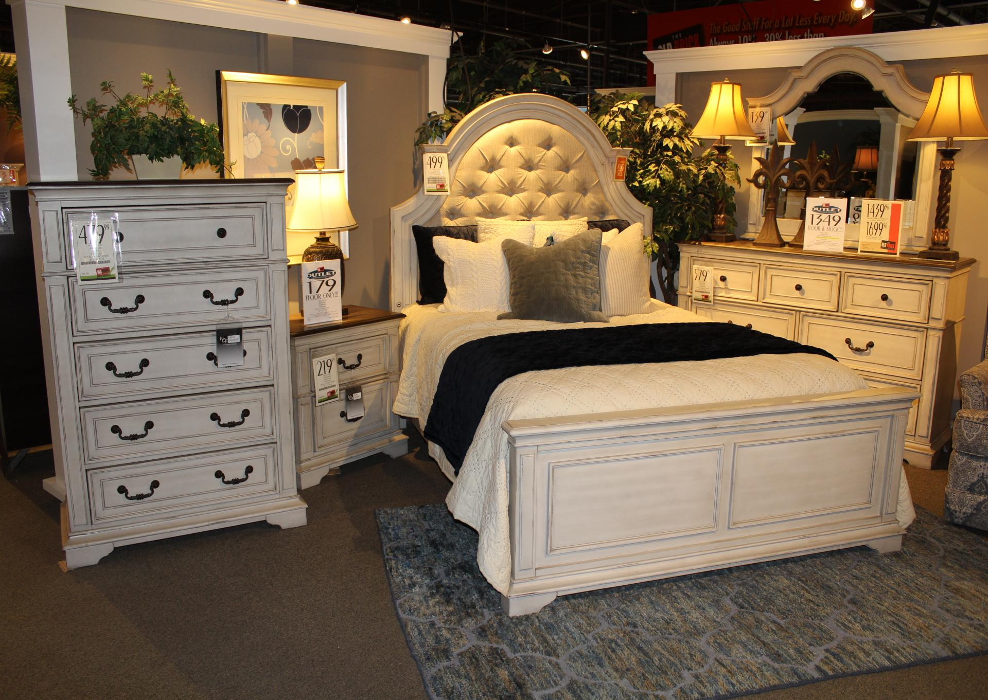 Clearance Anastasia Bedroom Set By New Classic The Old Brick Furniture Company
