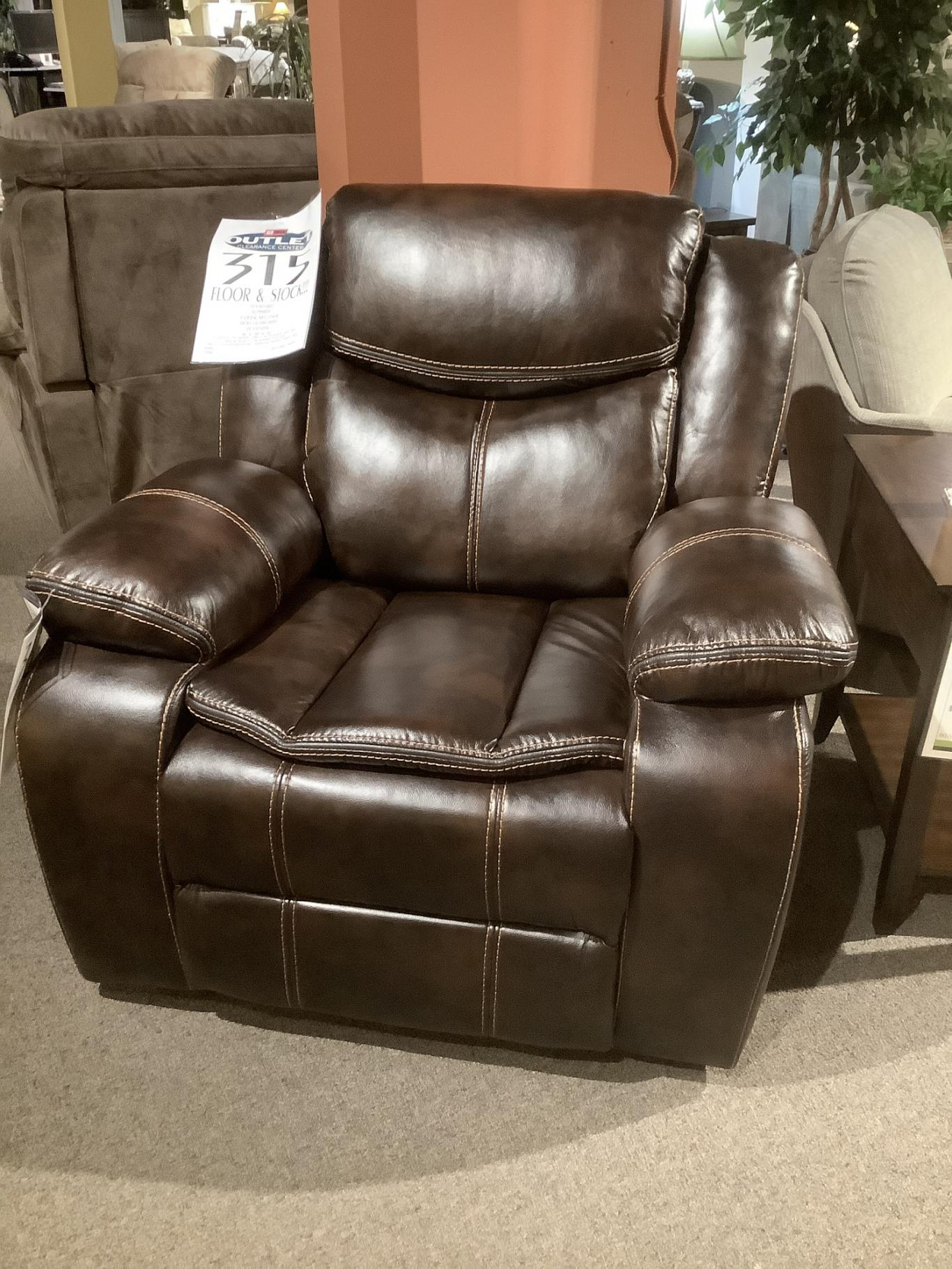 Clearance - Hollingsworth Glider Recliner by Standard,OBO