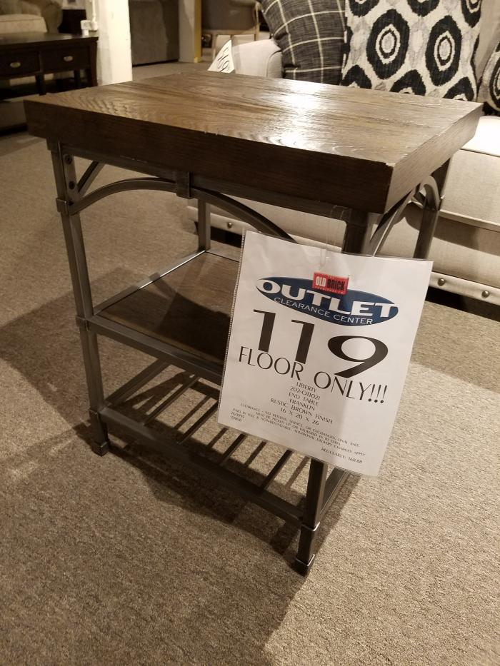 Clearance - End Table by Liberty ,OBO