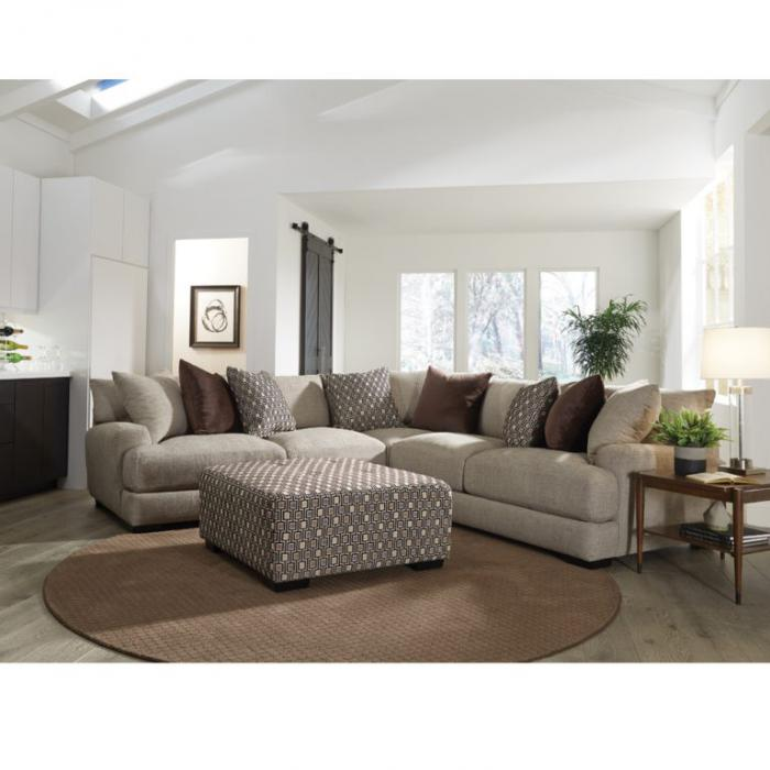 Arella Sectional by Franklin,Old Brick