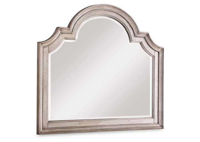 Plymouth Mirror by Flexsteel,Old Brick