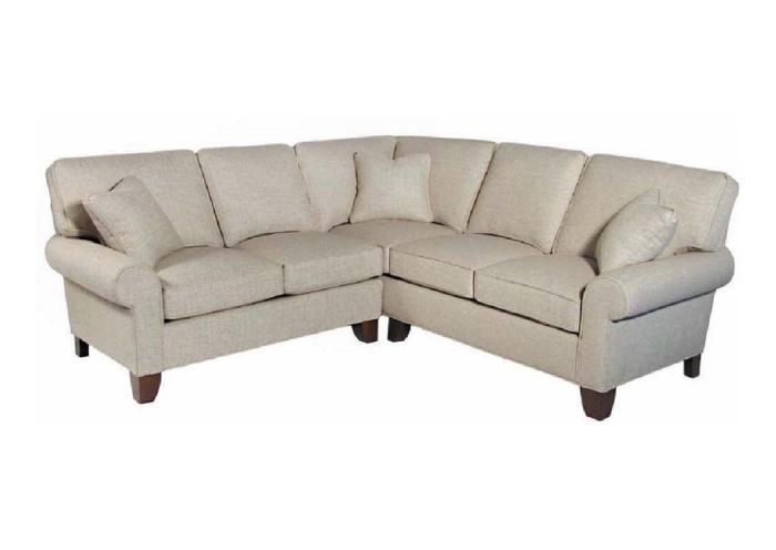 Madison Customizable Sectional by Hallagan,Old Brick