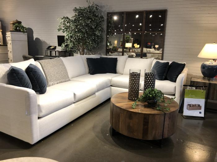Atlanta Sectional by Klaussner,Old Brick