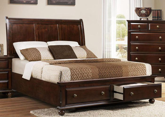 The Old Brick Furniture Company Portsmouth Queen Storage Bed By