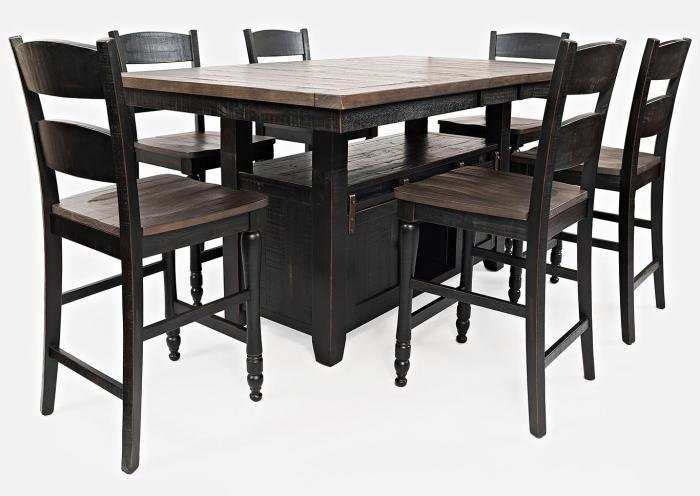 Madison County 5-Piece Gathering Set by Jofran,Old Brick