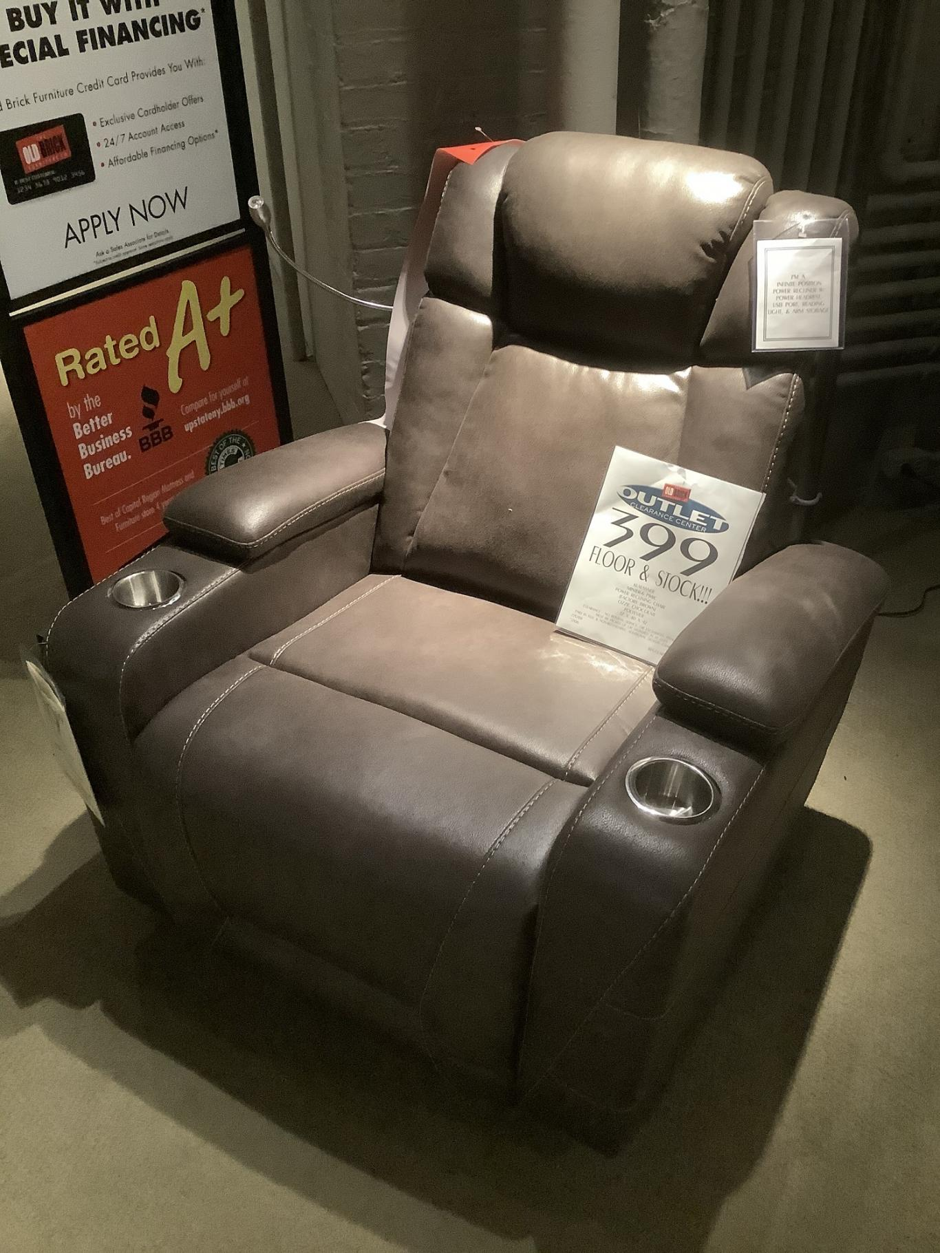 Clearance - Power Reclining Chair by Klaussner,OBO