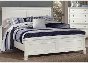 Tamarack White Full Bed by New Classics