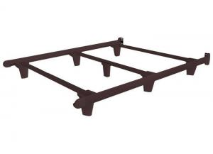 Embrace Bed Frames Twin Espresso Brown Bed Frame