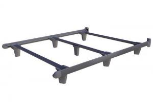 Embrace Bed Frames Twin Grey Bed Frame