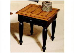 Country Vista End Table