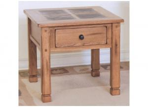 Sedona End Table w/Slate Top