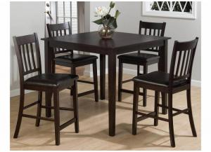 Marin County 5pc set by Jofran includes pub table & 4 stools