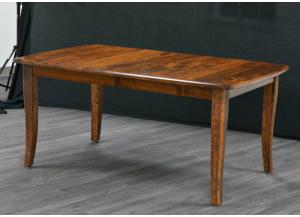 Trailway Wood Solid Wood Amish Made Table In Choice of Wood and Finish Color