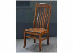 Easton Pike Solid wood Side Chair by Trailway