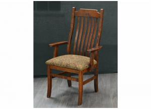 Easton Pike Solid Wood Arm Chair by Trailway