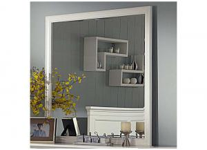 Tamarack White Square Mirror by New Classics