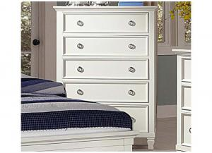 Tamarack White 5-Drawer Chest by New Classics