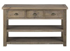 Slater Mill Pine Sofa Table Made of Reclaimed Pine