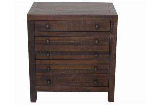 CLEARANCE-Townsend 3-Drawer Nightstand by Modus