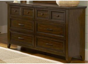 Laurel Creek 6-Drawer Dresser by Liberty
