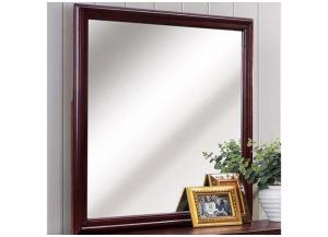 Louis Phillipe Square Mirror by Crown Mark