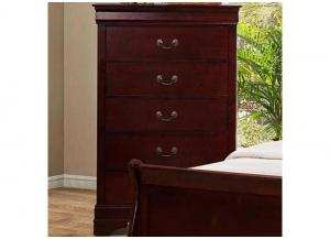 Louis Phillipe 5 Drawer Chest by Crown Mark