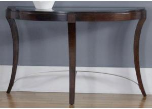 Avalon Glass Top Sofa Table