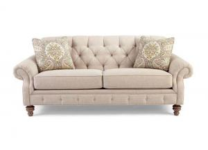 746350 Button-Tufted Sofa by Craftmaster