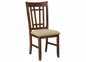 Mission Casuals Lattice Back Dining Chair